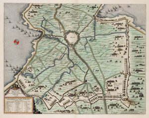 Het beleg van Hulst in 1645. Bron: Wikipedia Creative Commons 2016
